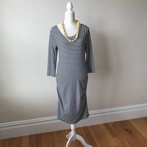 Isabel - A Pea in the Pod Maternity Striped Dress